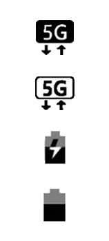 Explicação dos ícones - Samsung Galaxy S21 Ultra 5G - Passo 22