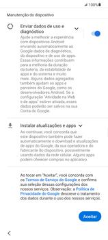 Como configurar pela primeira vez - Samsung Galaxy S21 Ultra 5G - Passo 11