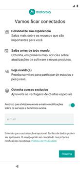 Como configurar pela primeira vez - Motorola Moto G8 Power - Passo 13