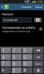 Como bloquear chamadas de um número específico - Samsung Galaxy Core Plus - Passo 12
