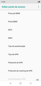 Como configurar a internet do seu aparelho (APN) - Motorola One - Passo 12
