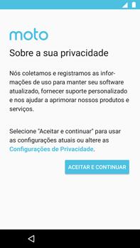 Como ativar seu aparelho - Motorola Moto G5s Plus - Passo 7
