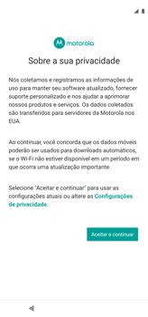 Como configurar pela primeira vez - Motorola Moto G8 Power - Passo 11