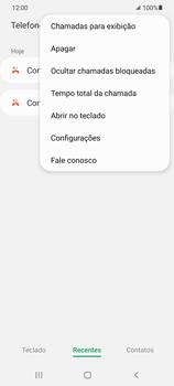 Como bloquear chamadas de um número específico - Samsung Galaxy S21+ 5G - Passo 6