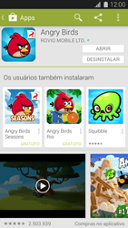 Como baixar aplicativos - Samsung Galaxy S5 - Passo 19