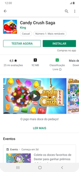 Como baixar aplicativos - Samsung Galaxy A20 - Passo 12