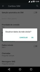 Como ativar e desativar uma rede de dados - Motorola Moto G (3ª Geração) - Passo 5