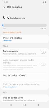 Como ativar e desativar uma rede de dados - Samsung Galaxy S20 Plus 5G - Passo 6