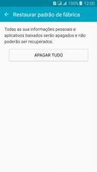 Como restaurar as configurações originais do seu aparelho - Samsung Galaxy J3 Duos - Passo 7