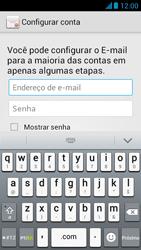 Como configurar seu celular para receber e enviar e-mails - Huawei Ascend G510 - Passo 6