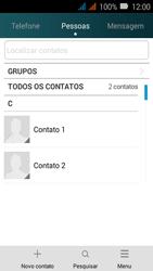 Como bloquear chamadas de um número específico - Huawei Y3 - Passo 3
