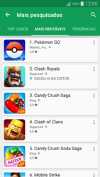 Como baixar aplicativos - Samsung Galaxy A5 - Passo 9