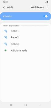 Como configurar uma rede Wi-Fi - Samsung Galaxy A10 - Passo 6
