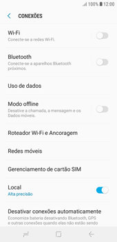 Como ativar e desativar uma rede de dados - Samsung Galaxy J4 Core - Passo 4