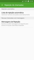 Como bloquear chamadas de um número específico - Samsung Galaxy S6 - Passo 7