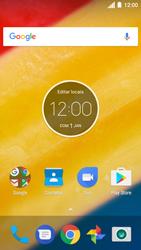 Como configurar pela primeira vez - Motorola Moto C Plus - Passo 1