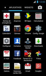 Como configurar seu celular para receber e enviar e-mails - Motorola Primus Ferrari - Passo 3