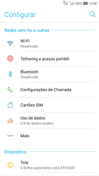 Como configurar a internet do seu aparelho (APN) - Asus Zenfone Selfie - Passo 3