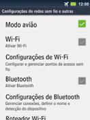 Como ativar e desativar o modo avião no seu aparelho - Motorola Master - Passo 5