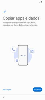 Como ativar seu aparelho - Samsung Galaxy S20 Plus 5G - Passo 7