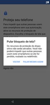 Como ativar seu aparelho - Motorola One - Passo 16