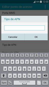 Como configurar a internet do seu aparelho (APN) - Samsung Galaxy Note - Passo 12