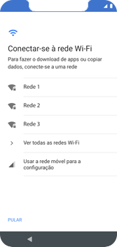Como configurar pela primeira vez - Motorola Moto G7 Play - Passo 4