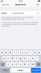 Como usar seu aparelho como um roteador de rede Wi-Fi - Apple iPhone 8 - Passo 4