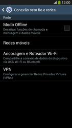 Como ativar e desativar o modo avião no seu aparelho - Samsung Galaxy S IV - Passo 4