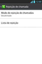 Como bloquear chamadas de um número específico - LG Optimus L5 - Passo 6