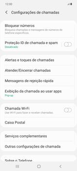 O celular não recebe chamadas - Samsung Galaxy Note 20 5G - Passo 16