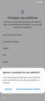 Como configurar pela primeira vez - Samsung Galaxy S21 Ultra 5G - Passo 13