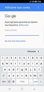 Como configurar seu celular para receber e enviar e-mails - Samsung Galaxy S8 - Passo 10