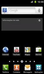 Como configurar uma rede Wi-Fi - Samsung Galaxy S II - Passo 1