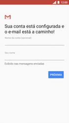 Como configurar seu celular para receber e enviar e-mails - Motorola Moto C Plus - Passo 11