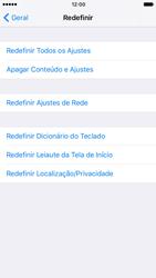 Como restaurar as configurações originais do seu aparelho - Apple iPhone 6 - Passo 5