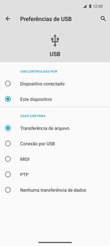 Como transferir arquivos do computador (Windows) para seu aparelho - Motorola Edge - Passo 5