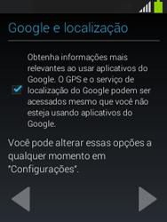 Como configurar pela primeira vez - Samsung Galaxy Pocket - Passo 11