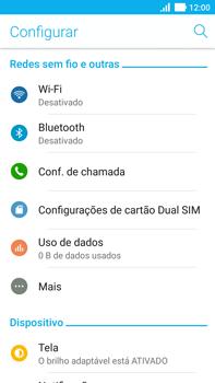 Como ativar e desativar uma rede de dados - Asus ZenFone 3 - Passo 3