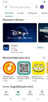 Como baixar aplicativos - Samsung Galaxy A10 - Passo 5