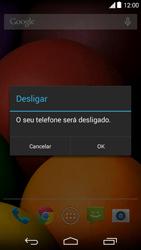 Como reiniciar o aparelho - Motorola Moto E (1ª Geração) - Passo 4