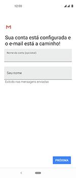 Como configurar seu celular para receber e enviar e-mails - Motorola One Vision - Passo 19
