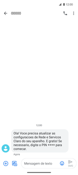 Como conectar à internet - Motorola Edge - Passo 17