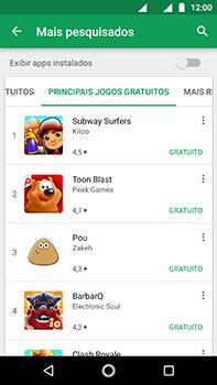 Como baixar aplicativos - Motorola Moto Z2 Play - Passo 6