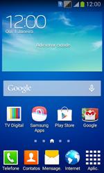 Como checar se o seu aparelho está desbloqueado para outras operadoras - Samsung Galaxy Core Plus - Passo 1