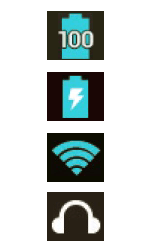 Explicação dos ícones - LG G2 Lite - Passo 6