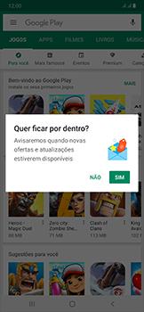 Como baixar aplicativos - Samsung Galaxy A50 - Passo 4