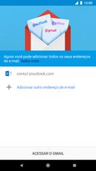 Como configurar seu celular para receber e enviar e-mails - Google Pixel 2 - Passo 12