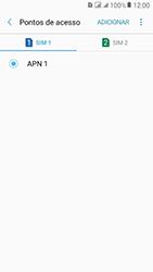 Como configurar a internet do seu aparelho (APN) - Samsung Galaxy J2 Prime - Passo 9