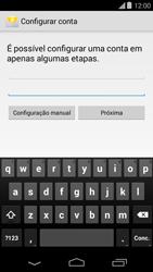 Como configurar seu celular para receber e enviar e-mails - Motorola Moto E (1ª Geração) - Passo 6